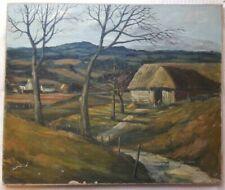Oil Landscape Signed Art Paintings