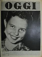 OGGI N°51/21/DIC/1950 RIVOLTA A SINGAPORE PER BERTA HERTOG OLANDESINA DI 13 ANNI