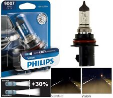 Philips VIsion 30% 9007 HB5 65/55W Head Light Bulb Dual Beam Upgrade OE DOT Lamp