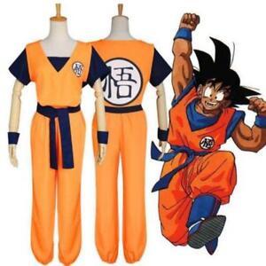 9Anime Dragon Ball Z Son GoKu Cosplay Costume Set Fancy Dress Party Clothing