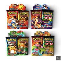Nouveau 36packs 324pcs Pokemon édition anglais Flash jeux de cartes enfants