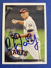 2010 Topps Pro Debut Chris Dominguez #60 RC Auto Signed Autograph Giants