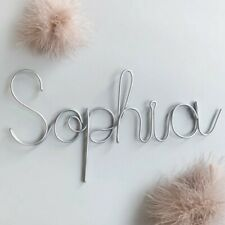 Personalized Nursery Wire Name Sign | Name Wire Sign | Name  Bedroom Decor