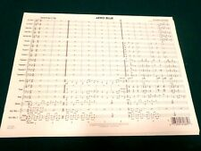 "Jazz Band Conductor Score ""Afro Blue"" by Mongo Santamaria"