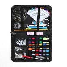 91pcs Home Travel Scissor Thread Needle Pins Sewing Kit Case Set Stitching Tool