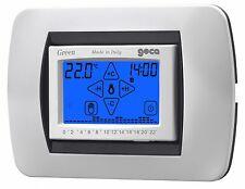 GECA GREEN Cronotermostato touch screen da incasso BIANCO 35282339