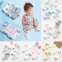 Soft   Winter Warm Toddler Infant Ankle Sock Striped Kids Baby Socks Cotton