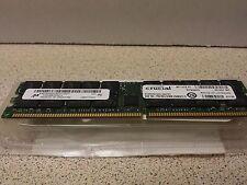 Crucial  2GB (1X2GB) DDR ECC RAM PC2700 333MHZ Server Memory CT25672Y335.36LFFY