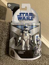 Hasbro Star Wars Black Series Clone Wars 50th 6? Clone Pilot Hawk In Hand