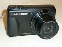 PANASONIC LUMIX DMC-TZ55 16MP CAMERA WITH FLIP UP SELFIE SCREEN
