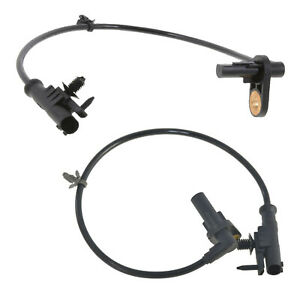 2 X New Rear Left & Right ABS Speed Sensors For Nissan Cube Infiniti FX35 G37