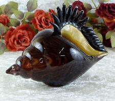 Glasmuschel Murano Schale Kristall Glas Kunst Muschel Strandmuschel Glasschale