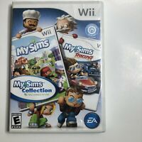 My Sims Collection (Nintendo Wii, 2006) Complete