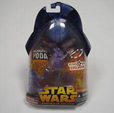Star Wars: Revenge Of The Sith Holographic Yoda Action Figure Hasbro 2005 NIB