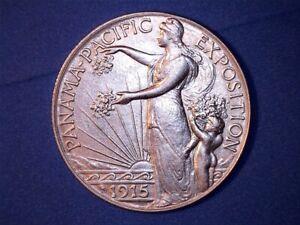US Coins-1915-S Panama-Pacific Silver Commemorative Half Dollar