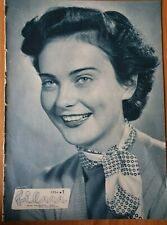 Magazine FILM 1 Metka Gabrijelcic cover movie actress Slovenia Yugoslavia 1954