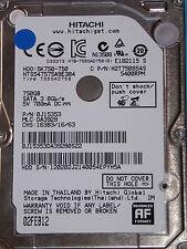 Hitachi HTS547575A9E384 | MLC: DA3928 | 0J15353 | 02FEB12 | 750GB disco rigido