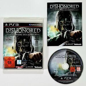 SONY PlayStation 3 DISHONORED dt. Bethesda/Stealth/Assassin/Killer/Attentäter