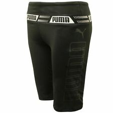 Puma Essential Womens Shorts Gym Running Tight Black 515061 01 A80D