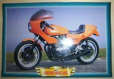 LAVERDA MONTJUIC 500 VINTAGE CLASSIC MOTORCYCLE BIKE 1980'S PICTURE PRINT 1982