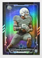 2015 Bowman Rainbow Black #R53 Antwan Goodley - NM-MT
