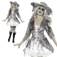 Ghost Ship Pirate Treasure Costume Adult Halloween Fancy Dress Outfit