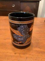 Lockheed Commemorative 16 OZ 22K Gold Embossed Coffee Mug Operation Desert Storm