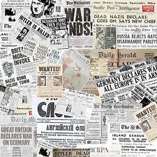 German Newspapers 50cm by 50cm Sticker Bomb sheet Euro Vinyl Decal vw honda Dub