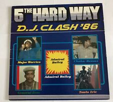 5th Hard Way D.J Clash '86 Rare Lp Tonto Irie General Tree!!