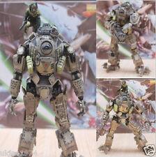 "Play Arts Kai TitanFall Atlas&Pilot Battle Mech Action Figure Statue 10"" Toy New"