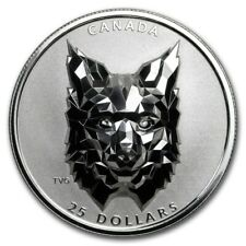 2020 $25 Canada Silver Multifaceted Lynx (SPOTTED)