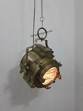 Industrial Vintage Antique Brown Ceiling Pendant Hanging Light Nautical Pendant