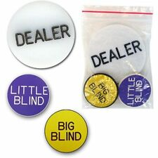 Trademark Poker Professional Dealer Button W