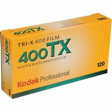 Kodak Tri-x TX-120 400 ISO Black and White Negative Film, 5 Pack FRESH DATE