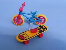 Playmobil Soporte de bicicleta niño & skate-park juguetes de Casa de Muñecas Nuevo