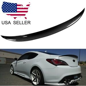 For 2010-2016 Hyundai Genesis Coupe Carbon Fiber Performance Trunk Spoiler Wing