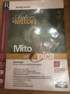 9788891502483 Autori e lettori Mito ed Epica OD 9788891502469