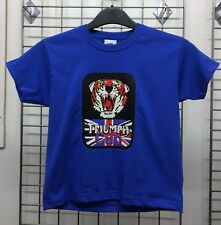 Childrens Unisex Triumph Tiger Cub RetroMotorcycle T-Shirt INISHED Productions