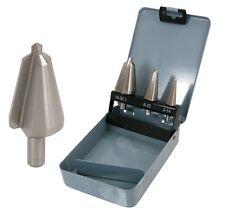 3pc conjunto de taladro de cono HSS para expandir agujeros en metal