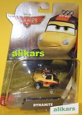 Dynamite Car Disney Planes 2 Mattel Aereo Cars Fire & Rescue New Toy in a Box