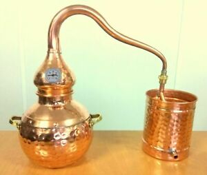Distillery Alembic copper with thermometer various sizes - Distillery * alambic