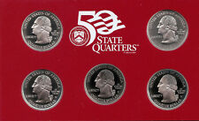 Collection - 2001-2009 S Proof Silver State Quarters - DCAM - 20 Coin Assortment