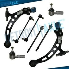 Front Lower Control Arms Tierods Sway Bars for 1997-2001 Lexus ES300 RX300 Camry