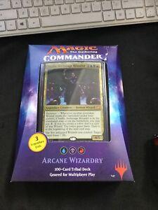 Magic the Gathering TCG Arcane Wizardry Commander Deck (New, Sealed)