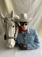 Lone Ranger & Silver Cookie Jar Vandor Limited Edition #1438 of #4800