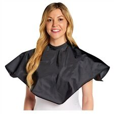 AP-30200 BARBER SALON BEAUTY SPA MAKE UP SCALPMASTER NYLON COMB-OUT CAPE