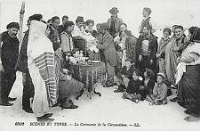 Postcard Judaica Circumcision Ceremony . Ll 6502