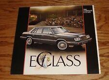Original 1983 Chrysler E Class Deluxe Sales Brochure 83