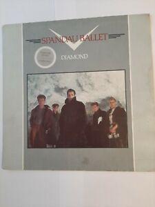 "Spandau Ballet – Diamond  - 12"" Vinyl Album - 1982. FREE DELIVERY."