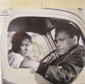 AL JARREAU ~ L Is For Lover ~ VINYL LP